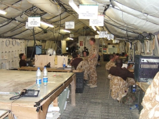 Royal Anglian Battle Group Joint Operations Centre