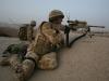 Battalion sniper Lance Corporal Teddy Ruecker near Kajaki